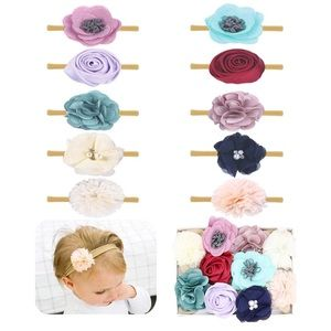 Other - 10 Pcs Baby Girl Headbands Flowers